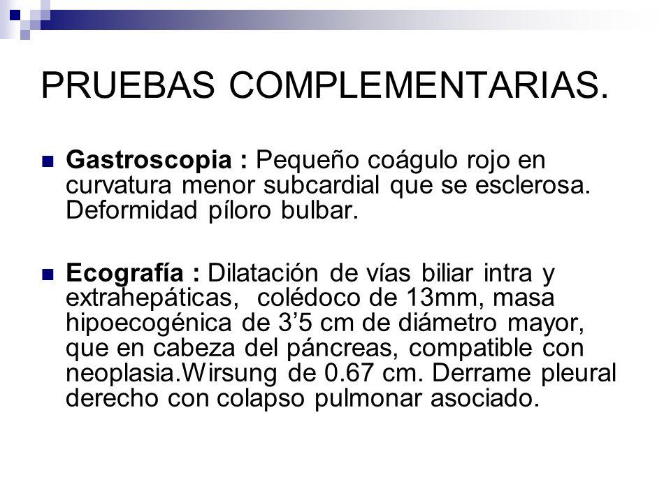 DIAGNÓSTICO DEFINITIVO La biopsia percutánea o endoscópica debe ser realizada para establecer el diagnóstico definitivo.