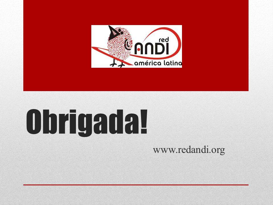 Obrigada! www.redandi.org