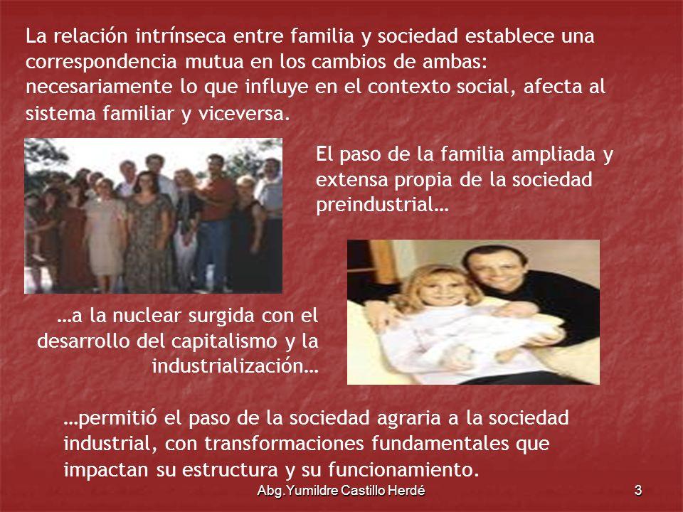 Abg.Yumildre Castillo Herdé14 Ley Orgánica para la Protección del Niño y del Adolescente Obligaciones Generales de la Familia.
