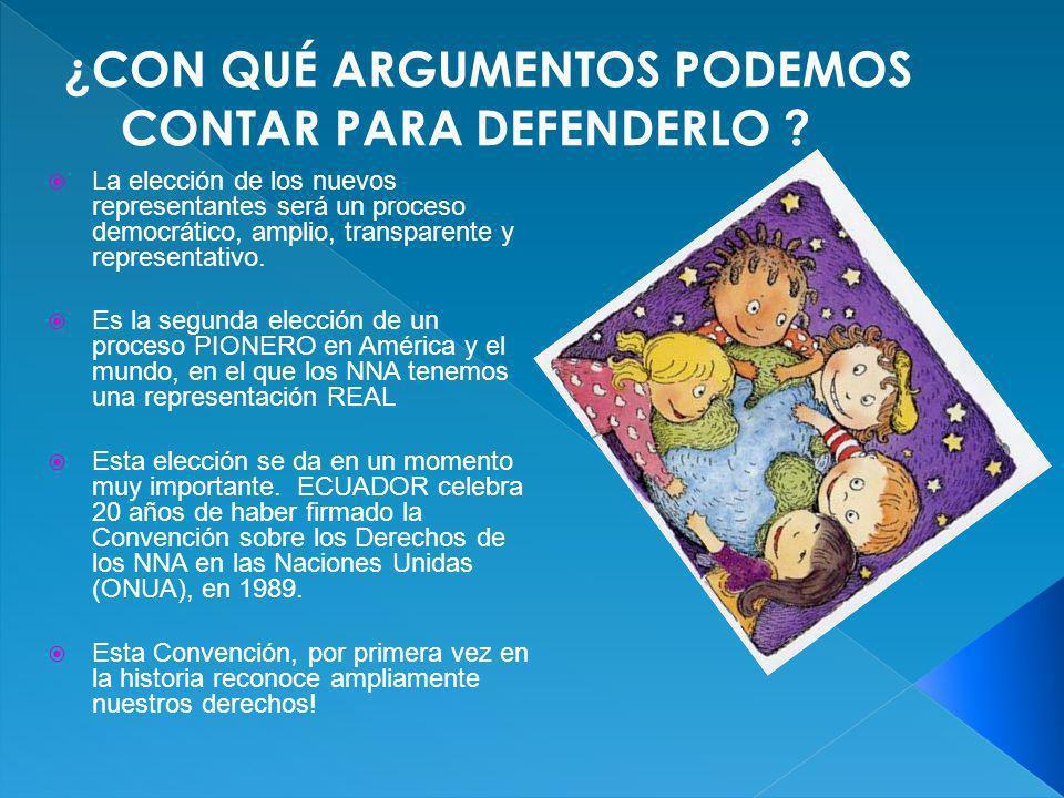 2 Cuñas (publicidades) para radio con información sobre el proceso de elección del CCNNNA.