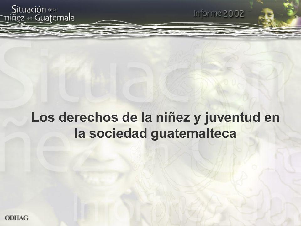 Los derechos de la niñez y juventud en la sociedad guatemalteca