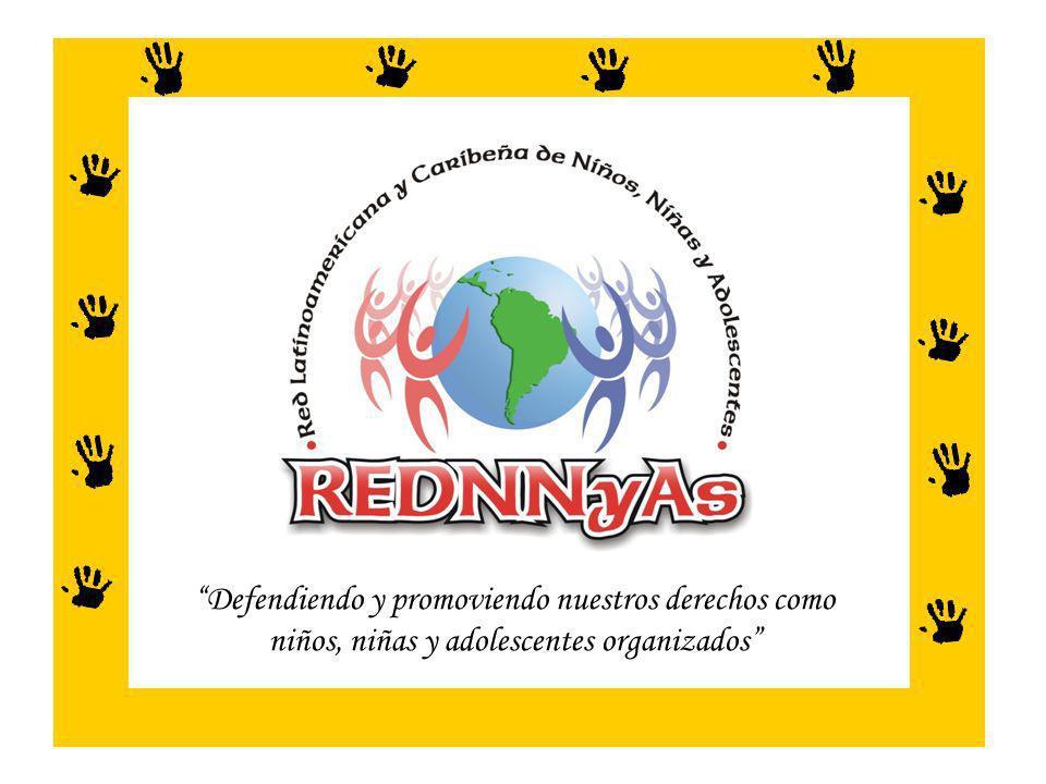 La RED es un espacio regional donde NNA organizados compartimos nuestras experiencias e impulsamos acciones para defender y garantizar el cumplimiento de nuestros derechos.