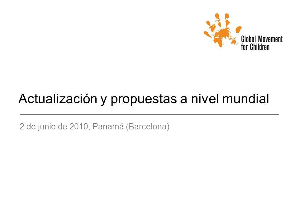 Actualización y propuestas a nivel mundial 2 de junio de 2010, Panamá (Barcelona)