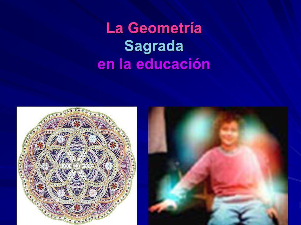 La Geometría Sagrada permite llegar a la Info-energía Cada punto dentro de la memoria celular contiene información completa del todo holístico. Si red