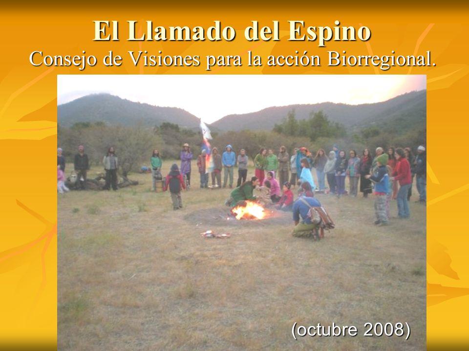 El Llamado del Espino Consejo de Visiones para la acción Biorregional. (octubre 2008)