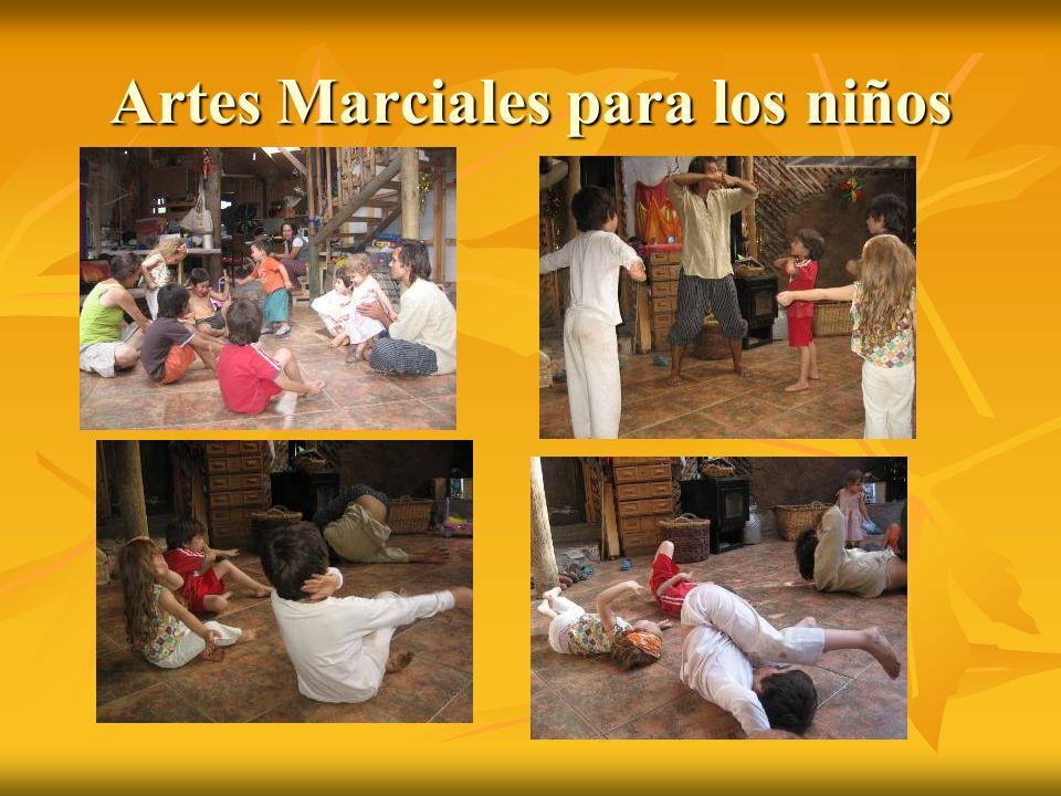 Artes Marciales para los niños