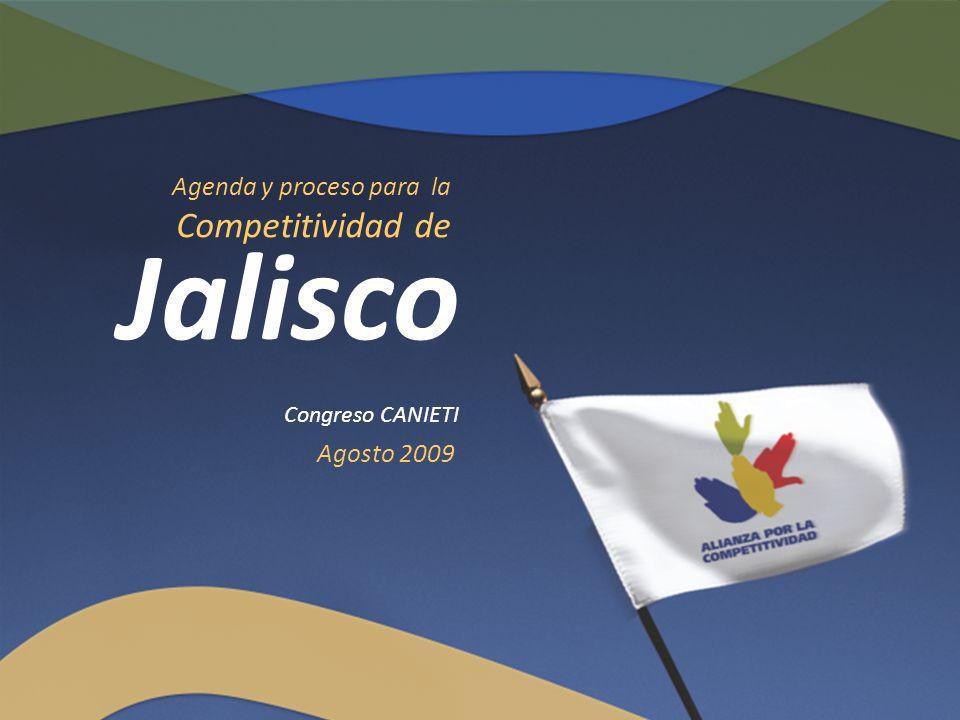 Agosto 2009 Congreso CANIETI Jalisco Agenda y proceso para la Competitividad de