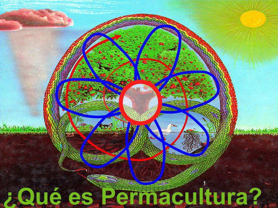 Tiene el objetivo de integrar plantas, animales, paisajes, construcciones, tecnologías y asentamientos humanos en sistemas armónicos y simbióticos, estableciendo una rica diversidad en flora y fauna,
