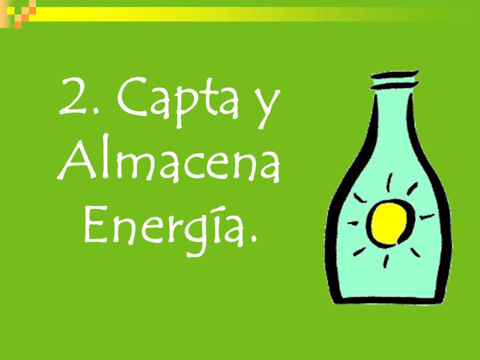 2. Capta y Almacena Energía.