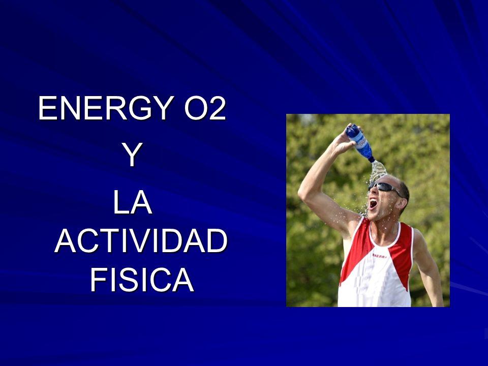 La toma de Energy O2 aumenta y mantiene un nivel alto de O2 en la sangre
