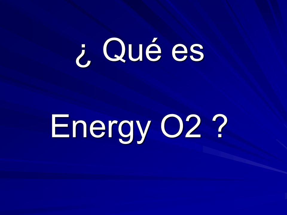 ENERGY O2 Agua Enriquecida con Oxígeno EL ELIXIR DE LA VIDA
