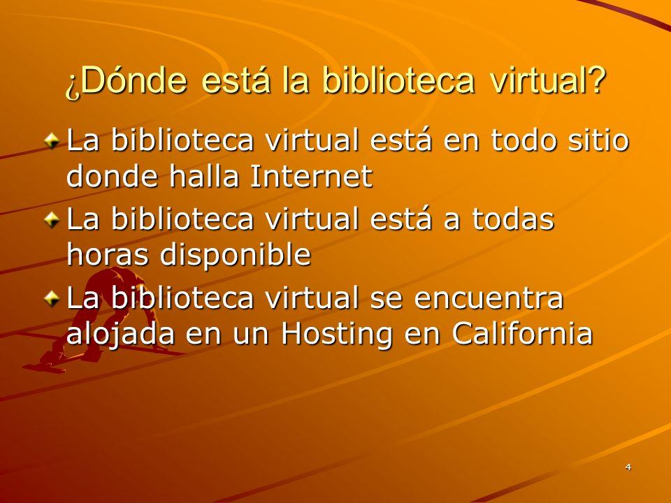 5 ¿ Cómo llego a la biblioteca virtual? En tu Browser escribe esto: http://edpcollege.info