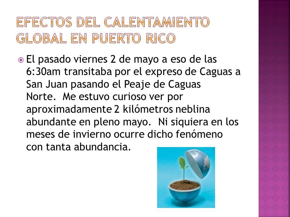 El pasado viernes 2 de mayo a eso de las 6:30am transitaba por el expreso de Caguas a San Juan pasando el Peaje de Caguas Norte.