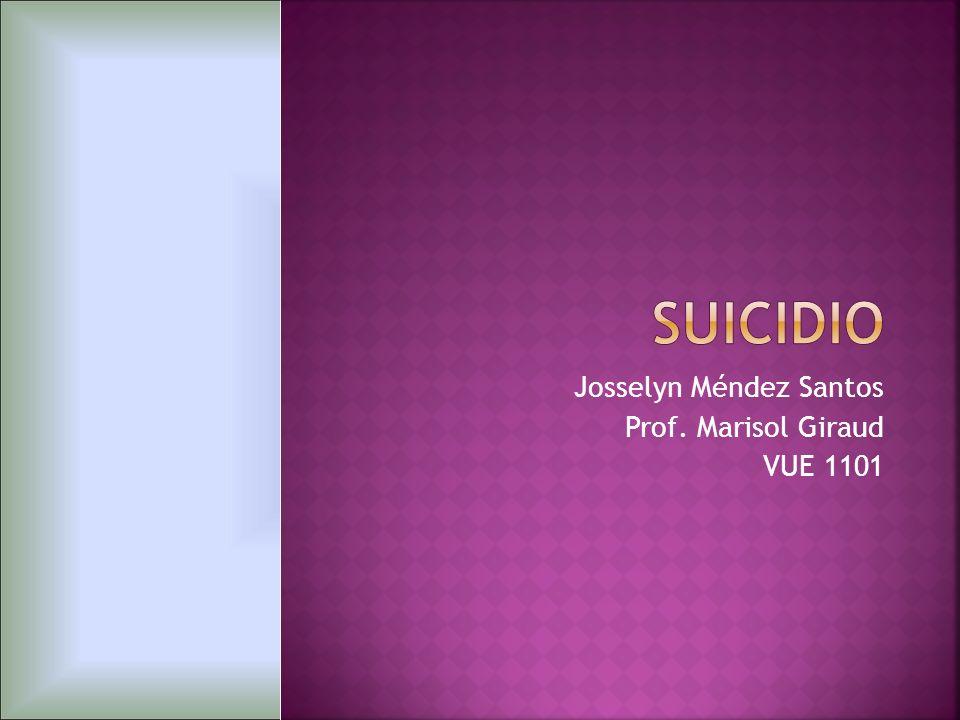 Mediante el presente trabajo pretendo dar a conocer las principales características del fenómeno de suicidio.