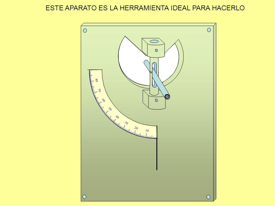 ESTE APARATO ES LA HERRAMIENTA IDEAL PARA HACERLO 10 20 30 40 50 60 70 80