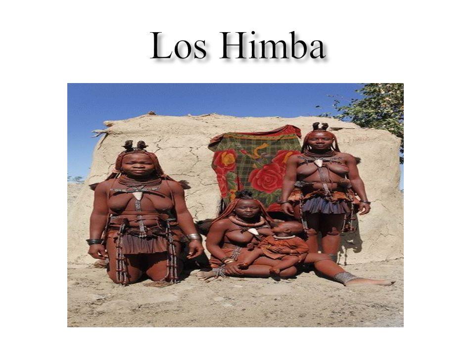 Himba es el nombre de una etnia de nativos de la región árida de Kunene, Namibia.