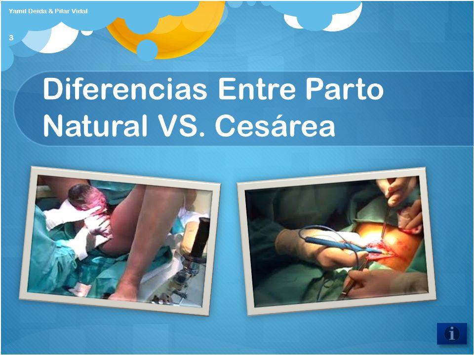 Diferencias Entre Parto Natural VS. Cesárea Yamil Deida & Pilar Vidal 3