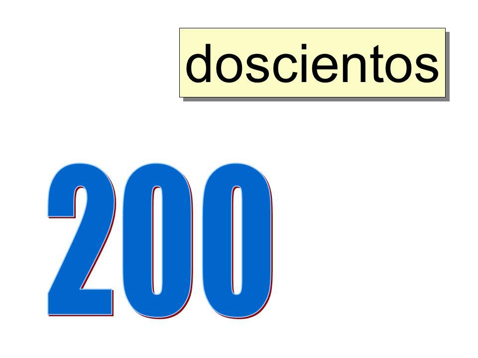doscientos