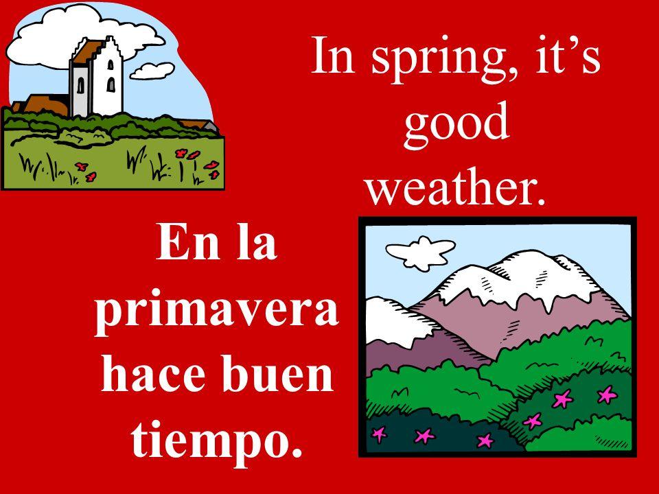 Spring La primavera