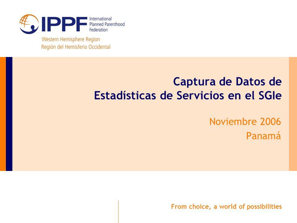 Tabla de Fechas y Estadísticas de Servicio Para ingresar o modificar los datos, la tabla debe estar Abierta.