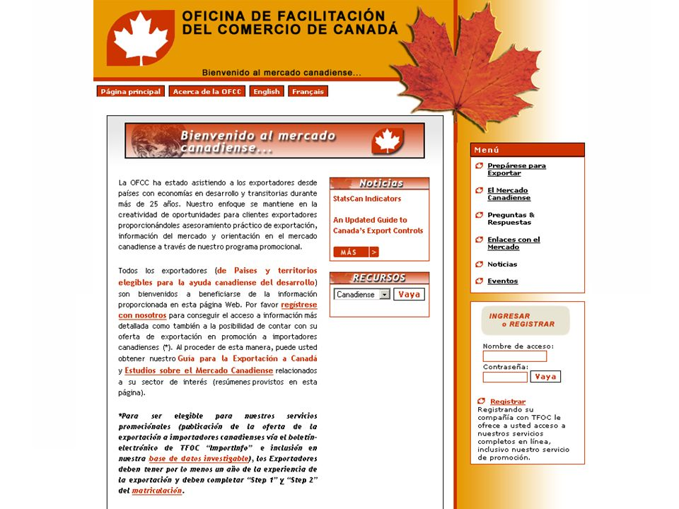 Trade Facilitation Office Canada Bureau de promotion du commerce Canada