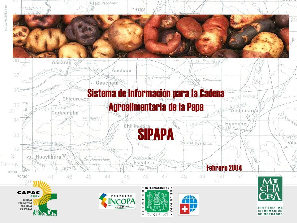 El Sistema ha sido desarrollado sobre la plataforma de información de mercados de Mi Chacra, con el objeto de consolidarse como un servicio estratégico dentro de la oferta de servicios de Capac Perú.