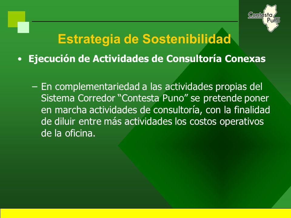 13 Estrategia de Sostenibilidad Articulación de Ofertas y Demandas.