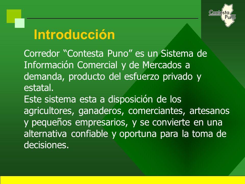1 Sistema de Información Comercial y de Mercados Corredor