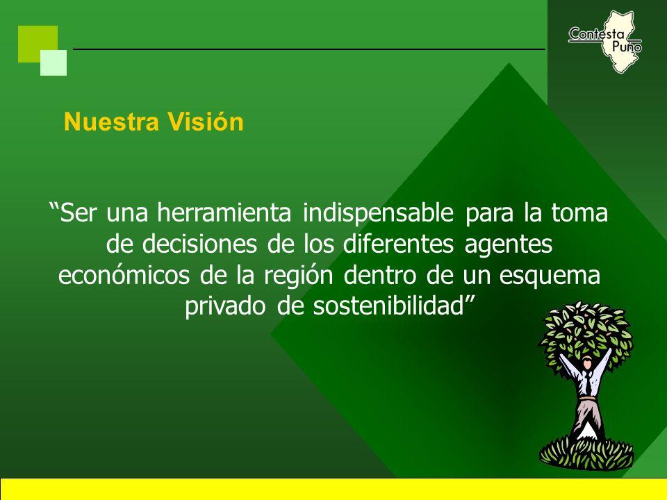 3 Introducción Corredor Contesta Puno se encuentra ya instalado en la ciudad de Puno, y viene siendo ejecutado porSwisscontact, institución que logro