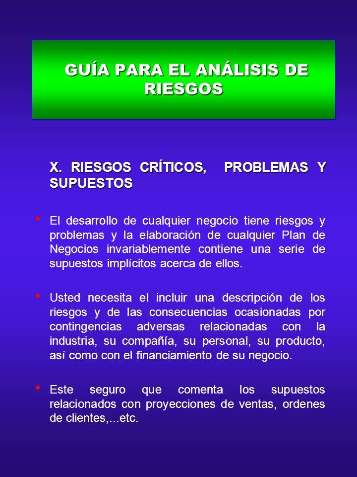 GUÍA PARA EL ANÁLISIS DEL EQUIPO DE FUNDADORES GUÍA PARA EL ANÁLISIS DEL EQUIPO DE FUNDADORES X.