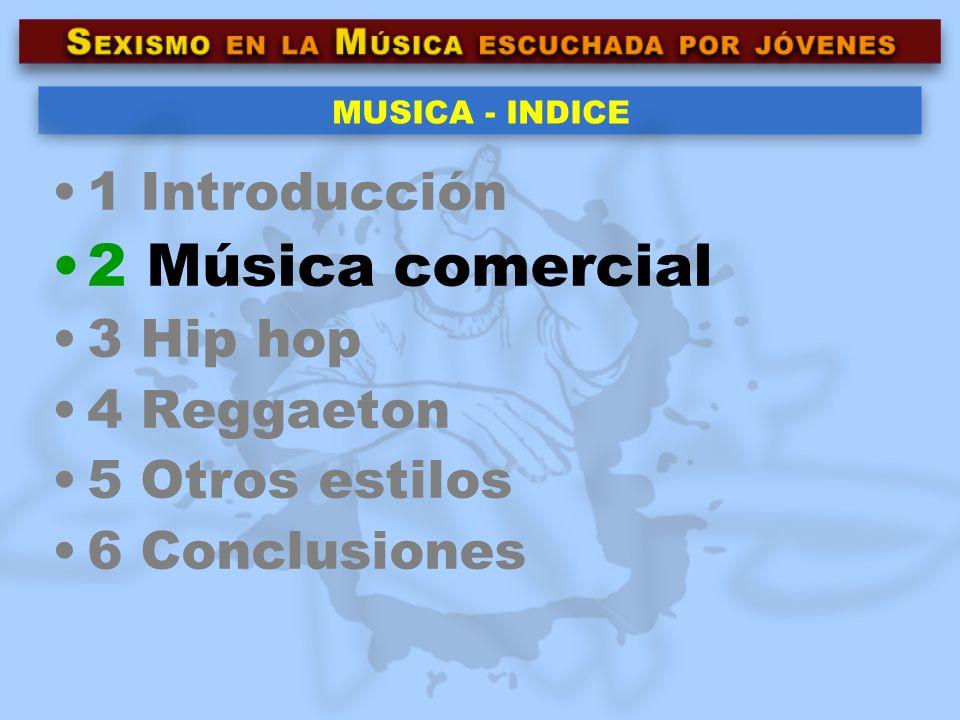 2 La música comercial ¿Comercial.