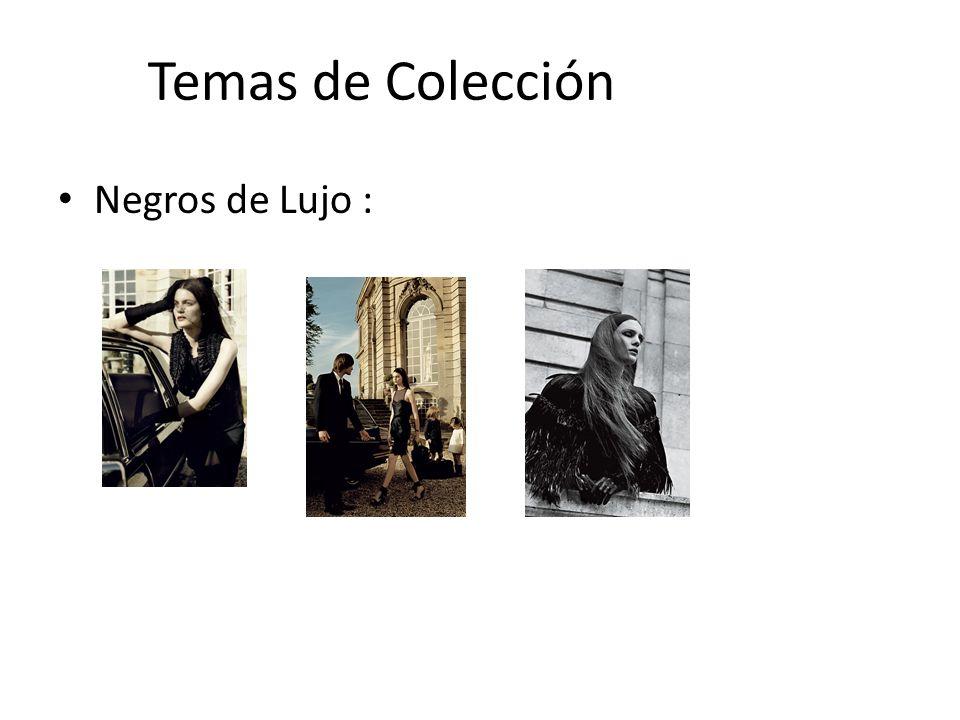Temas de Colección Negros de Lujo :