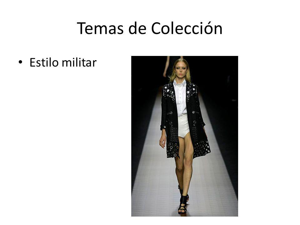 Temas de Colección Estilo militar