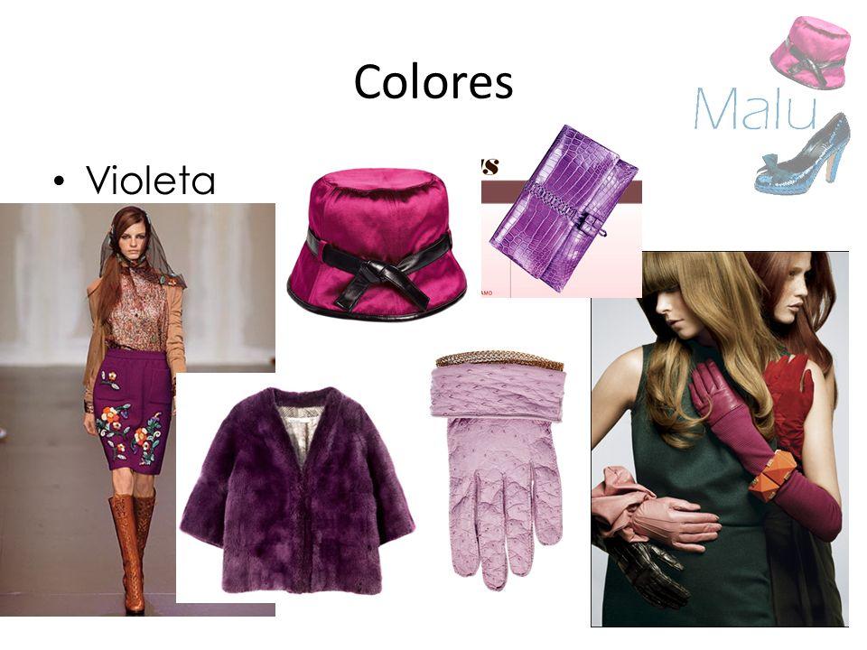 Colores Violeta