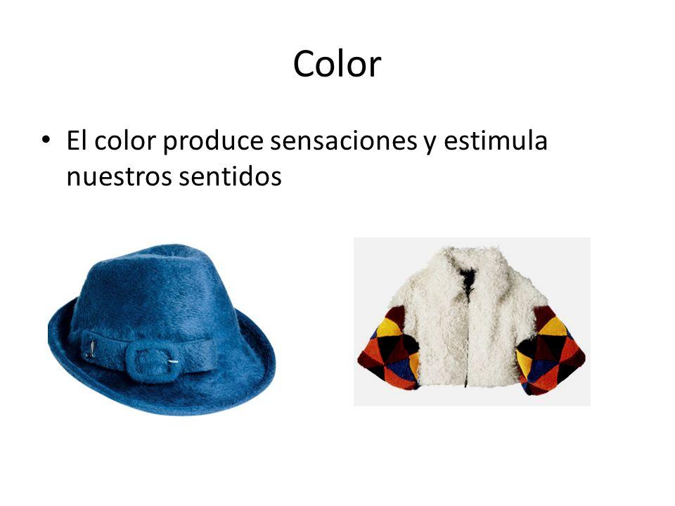 Color El color produce sensaciones y estimula nuestros sentidos