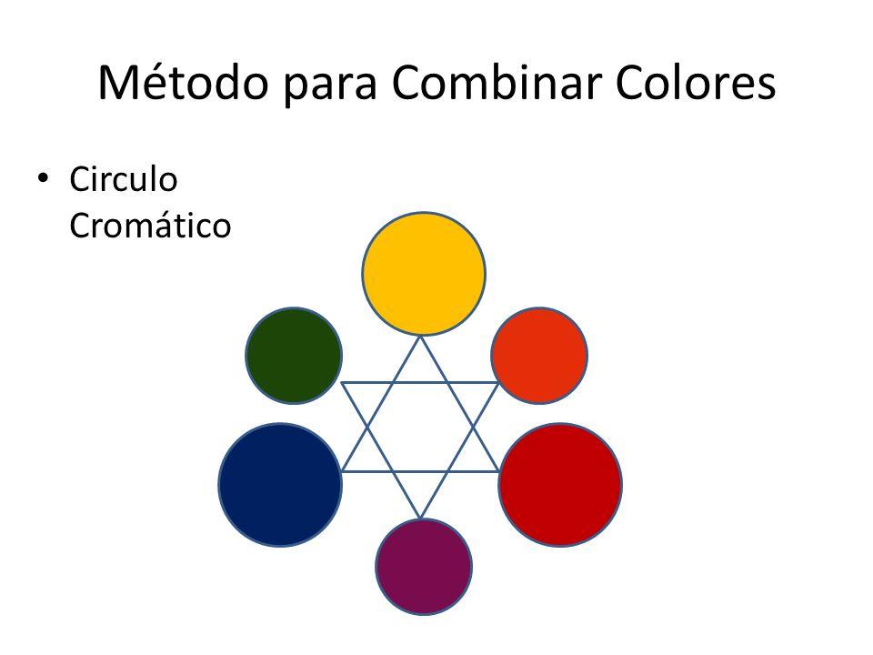 Método para Combinar Colores Circulo Cromático