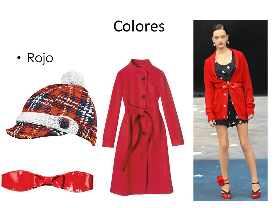 Colores Rojo