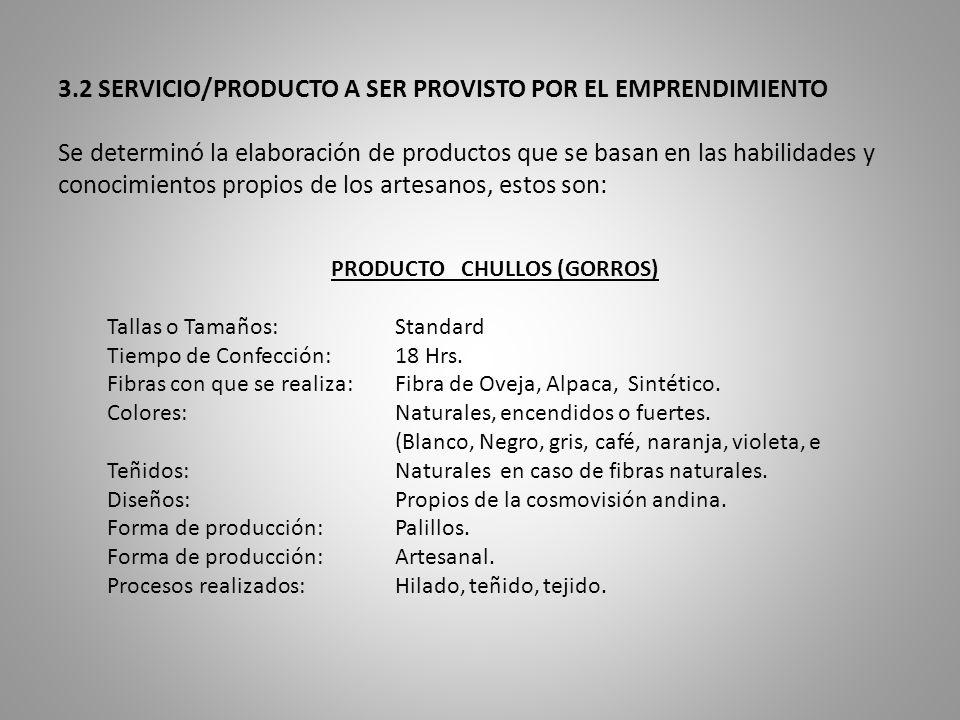 6.2 ANALISIS DE INVERSION La inversión prioriza principalmente capital de trabajo, para compra de materia prima y algunos insumos importantes para la producción de las artesanías.