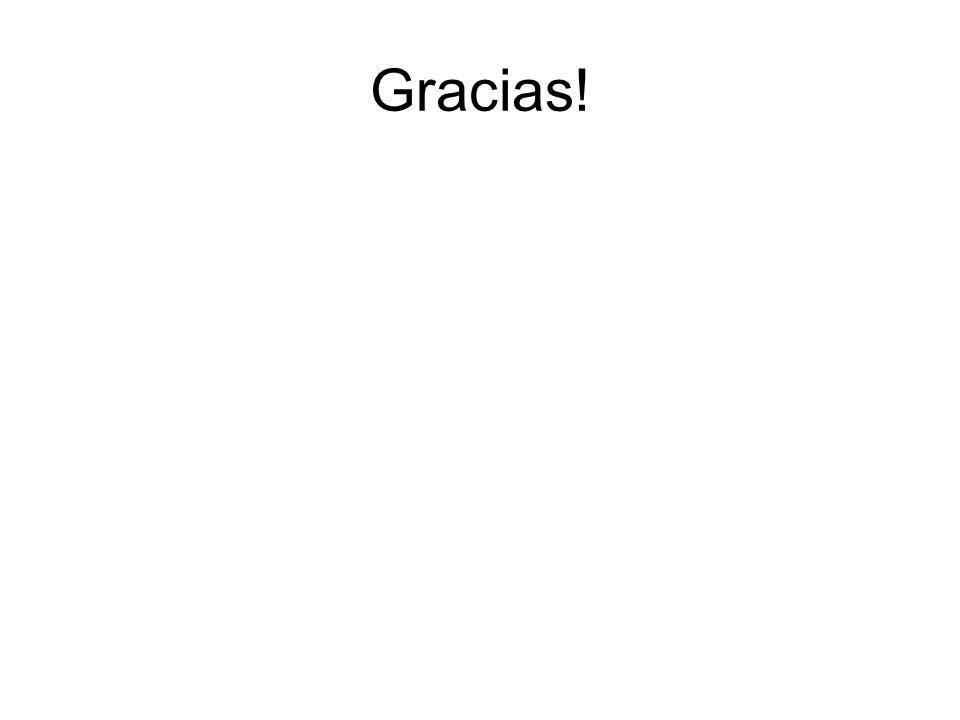 Gracias!