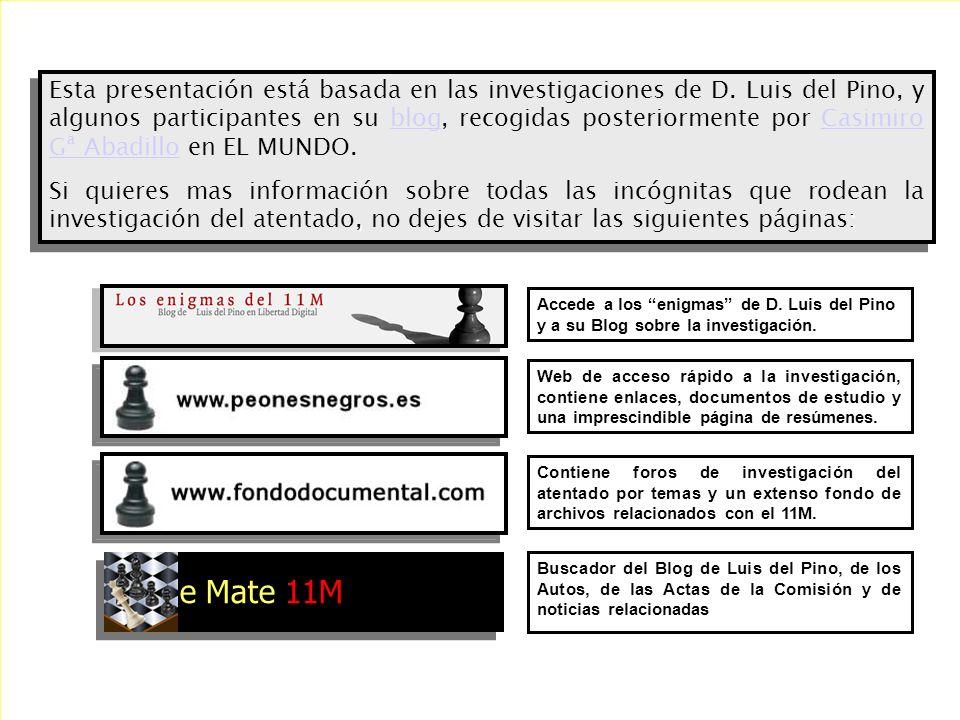 Si la prueba principal sobre el explosivo utilizado en el caso más importante de la historia de España es un informe plagado de irregularidades, en el