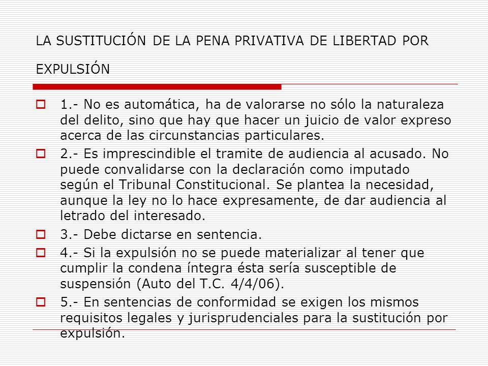 LA AUTORIZACIÓN JUDICIAL DE SALIDA: Art.57.7b) Naturaleza de la misma (provisional o definitiva).