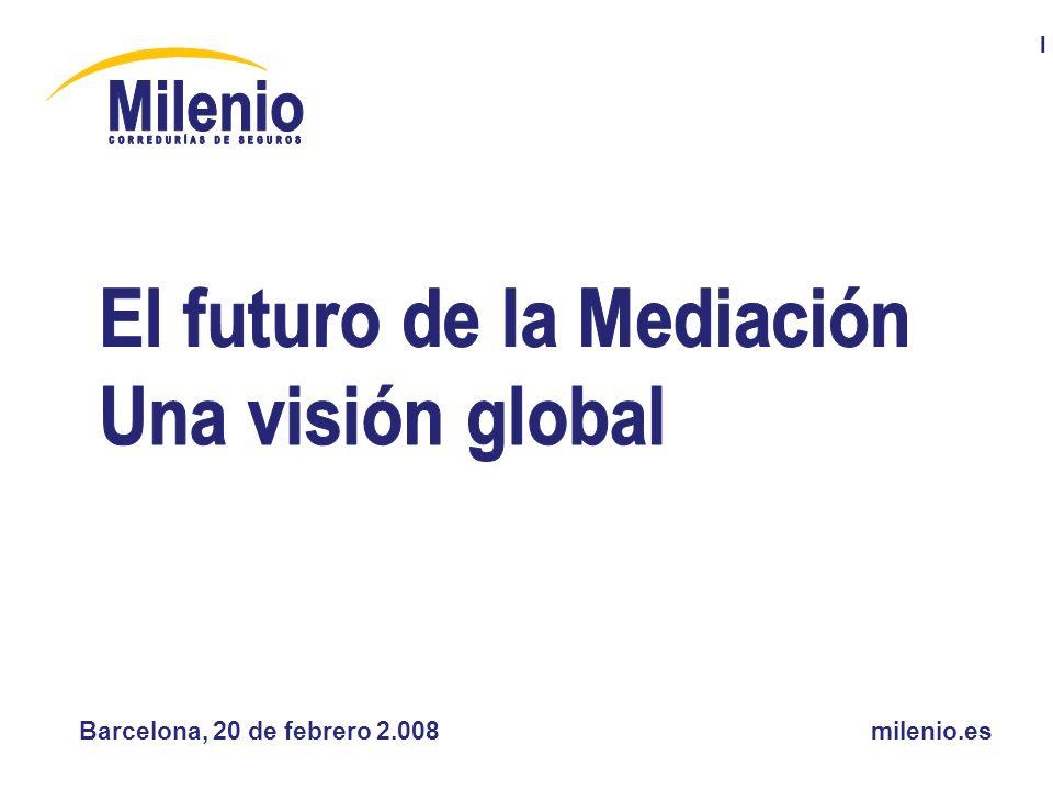 El futuro de la Mediación, una visión global AGRADECIMIENTOS A AIPS por elegirme para dar mi opinión sobre el futuro de la Mediación, a los asistentes y al resto de ponentes por estar aquí con nosotros y explicarnos su punto de vista.