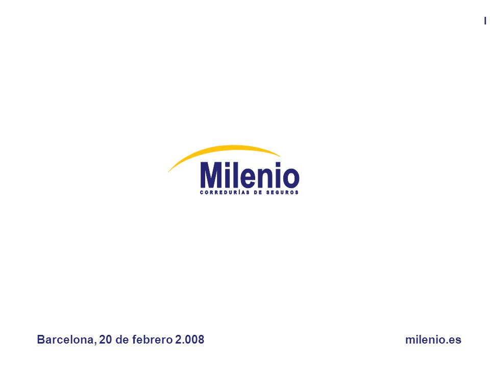 El futuro de la Mediación, una visión global Barcelona, 20 de febrero 2.008milenio.es