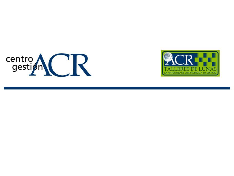 Índice La misión de ACR Quienes somos Cobertura total Controles internos ACR Valores para la aseguradora Valores para el taller Valores para el asegurado Contact Center Servicios adicionales sin coste Principales clientes Datos ACR