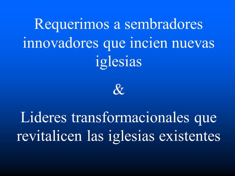 Evangelizando No Creyentes Creando Creyentes Equipando Miembros Dando Poder a Lideres Mover a la gente hacia arriba a la Madurez Mueve a la gente hacia su Ministerio