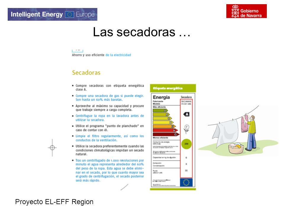 Proyecto EL-EFF Region Las secadoras …
