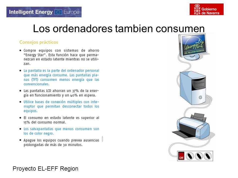 Proyecto EL-EFF Region Los ordenadores tambien consumen