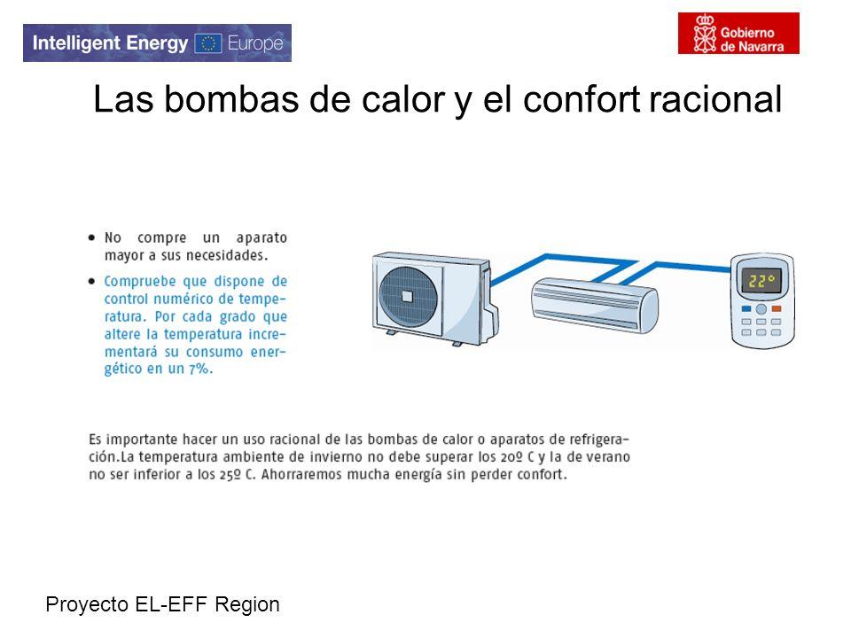Proyecto EL-EFF Region Las bombas de calor y el confort racional