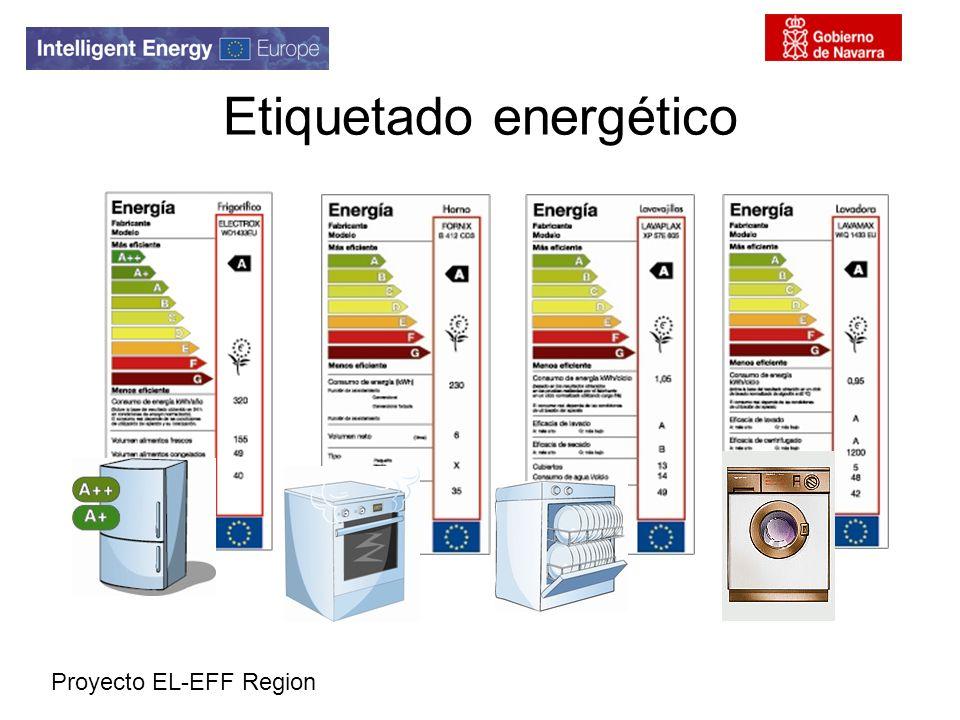 Proyecto EL-EFF Region Etiquetado energético