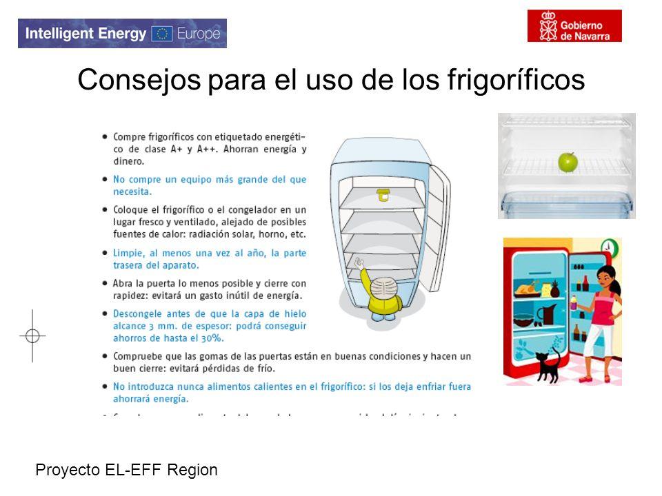 Proyecto EL-EFF Region Consejos para el uso de los frigoríficos